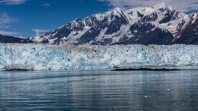 Παγετώνας Hubbard και επιπλέων πάγος Στοκ εικόνα με δικαίωμα ελεύθερης χρήσης