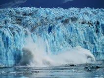 Παγετώνας Hubbard στην εσωτερική μετάβαση της Αλάσκας στοκ φωτογραφία με δικαίωμα ελεύθερης χρήσης
