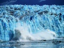 Παγετώνας Hubbard στην εσωτερική μετάβαση της Αλάσκας στοκ εικόνες με δικαίωμα ελεύθερης χρήσης