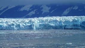 Παγετώνας Hubbard στην εσωτερική μετάβαση της Αλάσκας στοκ φωτογραφία