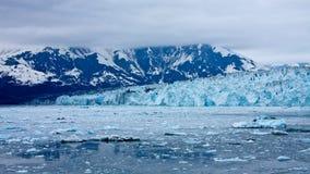 παγετώνας hubbard Στοκ εικόνες με δικαίωμα ελεύθερης χρήσης