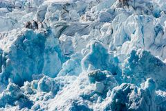 παγετώνας hubbard Στοκ εικόνα με δικαίωμα ελεύθερης χρήσης