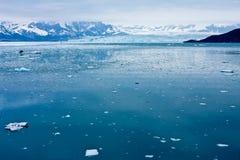 παγετώνας hubbard s της Αλάσκας Στοκ Εικόνες