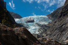 παγετώνας Josef Νέα Ζηλανδία του Franz στοκ εικόνα με δικαίωμα ελεύθερης χρήσης