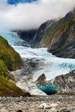 παγετώνας Josef Νέα Ζηλανδία τ&omicro Στοκ εικόνα με δικαίωμα ελεύθερης χρήσης