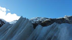 παγετώνας Josef Νέα Ζηλανδία του Franz Στοκ Φωτογραφίες