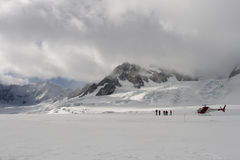 παγετώνας Joseph του Franz Στοκ Φωτογραφίες