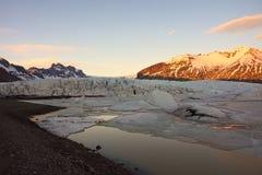 Παγετώνας Mà ½ rdalsjökull στοκ φωτογραφίες