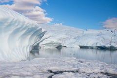 Παγετώνας Matanuska Στοκ Εικόνα