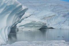 Παγετώνας Matanuska Στοκ Εικόνες