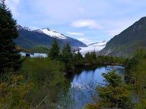 Παγετώνας Mendenhall στην Αλάσκα στοκ φωτογραφία με δικαίωμα ελεύθερης χρήσης
