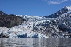 Παγετώνας Mendenhall το καλοκαίρι στοκ εικόνες με δικαίωμα ελεύθερης χρήσης