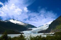 Παγετώνας Mendenhall Στοκ Εικόνες