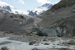 Παγετώνας Morteratsch Στοκ φωτογραφίες με δικαίωμα ελεύθερης χρήσης