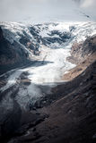 Παγετώνας Pasterze από Grossglockner Hohalpenstrasse Άλπεις, Aust Στοκ εικόνες με δικαίωμα ελεύθερης χρήσης