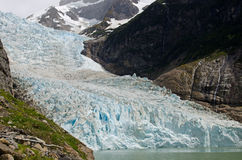 Παγετώνας Serrano, Παταγωνία, Χιλή στοκ εικόνα με δικαίωμα ελεύθερης χρήσης