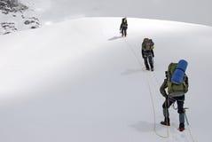 Παγετώνας Titnuldi στοκ εικόνα