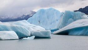 Παγετώνας Upsala λιμνών Argentino Στοκ Εικόνες