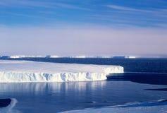 παγετώνας vanderford Στοκ Εικόνα