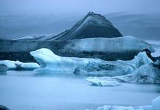 παγετώνες Ισλανδία Στοκ Φωτογραφία