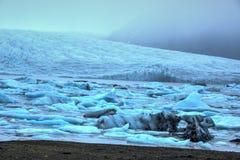 Παγετώδης λίμνη Fjallsarlon Στοκ φωτογραφίες με δικαίωμα ελεύθερης χρήσης