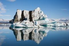 Παγετώδης λίμνη Jokulsarlon στην Ισλανδία Στοκ Εικόνες