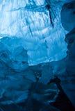 Παγετώδης μπλε πάγος στοκ εικόνες με δικαίωμα ελεύθερης χρήσης