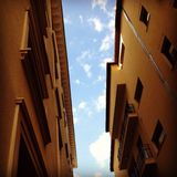 Παγιδευμένος ουρανός στοκ εικόνες με δικαίωμα ελεύθερης χρήσης