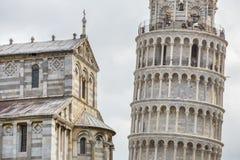 Παγκοσμίως διάσημο dei Miracoli πλατειών στην Πίζα, Ιταλία Στοκ φωτογραφίες με δικαίωμα ελεύθερης χρήσης