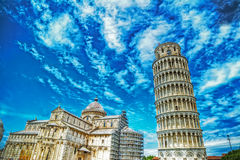 Παγκοσμίως διάσημο dei Miracoli πλατειών στην Πίζα Στοκ φωτογραφία με δικαίωμα ελεύθερης χρήσης
