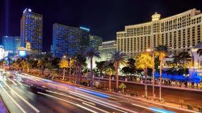 Παγκοσμίως διάσημο Las Vegas Strip Στοκ φωτογραφία με δικαίωμα ελεύθερης χρήσης