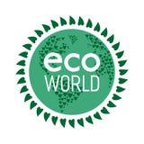 Παγκόσμια έννοια Eco Στοκ Εικόνα