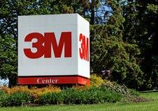 παγκόσμια έδρα της 3M στοκ φωτογραφία