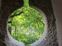 Παγκόσμια αντίληψη μέσω της τρύπας Στοκ Εικόνα