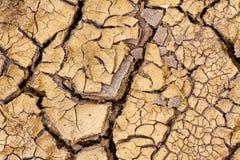 Παγκόσμια αύξηση της θερμοκρασίας λόγω του φαινομένου του θερμοκηπίου - στεγνωμένη γη. Ξηρασία. στοκ φωτογραφία με δικαίωμα ελεύθερης χρήσης