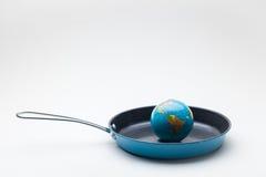Παγκόσμια αύξηση της θερμοκρασίας λόγω του φαινομένου του θερμοκηπίου Στοκ φωτογραφία με δικαίωμα ελεύθερης χρήσης