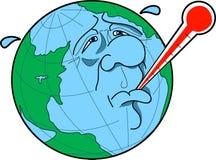 παγκόσμια αύξηση της θερμ&omic διανυσματική απεικόνιση