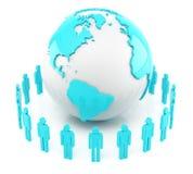 Παγκόσμια επικοινωνία στοκ εικόνα