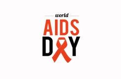 Παγκόσμια Ημέρα κατά του AIDS 1 Δεκεμβρίου Στοκ εικόνες με δικαίωμα ελεύθερης χρήσης