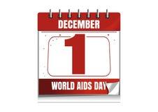 Παγκόσμια Ημέρα κατά του AIDS Στοκ Εικόνα