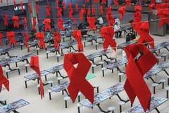 Παγκόσμια Ημέρα κατά του AIDS στοκ εικόνες με δικαίωμα ελεύθερης χρήσης