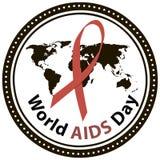 Παγκόσμια Ημέρα κατά του AIDS Στοκ εικόνα με δικαίωμα ελεύθερης χρήσης
