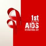 Παγκόσμια Ημέρα κατά του AIDS Στοκ φωτογραφία με δικαίωμα ελεύθερης χρήσης