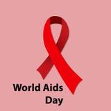 Παγκόσμια Ημέρα κατά του AIDS Στοκ Εικόνες