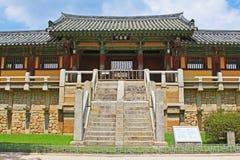 Παγκόσμια κληρονομιά της ΟΥΝΕΣΚΟ της Κορέας - ναός Bulguksa στοκ εικόνες