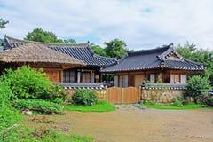 Παγκόσμια κληρονομιά της ΟΥΝΕΣΚΟ της Κορέας - χωριό Gyeongju Yangdong Στοκ Εικόνες