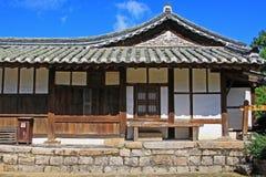 Παγκόσμια κληρονομιά της ΟΥΝΕΣΚΟ της Κορέας - χωριό Gyeongju Yangdong Στοκ φωτογραφίες με δικαίωμα ελεύθερης χρήσης