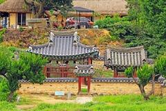 Παγκόσμια κληρονομιά της ΟΥΝΕΣΚΟ της Κορέας - χωριό Gyeongju Yangdong Στοκ εικόνα με δικαίωμα ελεύθερης χρήσης