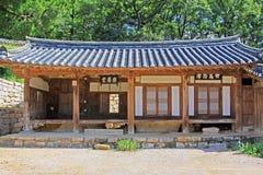 Παγκόσμια κληρονομιά της ΟΥΝΕΣΚΟ της Κορέας - χωριό Gyeongju Yangdong Στοκ φωτογραφία με δικαίωμα ελεύθερης χρήσης