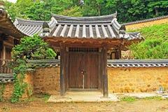 Παγκόσμια κληρονομιά της ΟΥΝΕΣΚΟ της Κορέας - χωριό Gyeongju Yangdong Στοκ Εικόνα